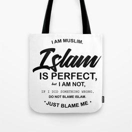 I Am Muslim Tote Bag