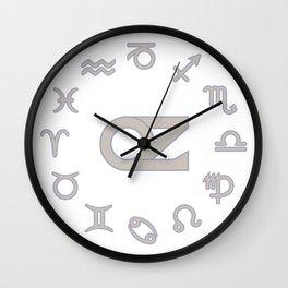OZ Zodiac Wall Clock