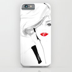 Woman with red lips Slim Case iPhone 6s