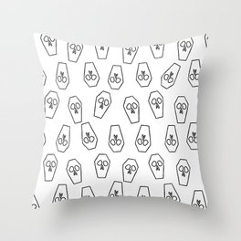 Casket Throw Pillow