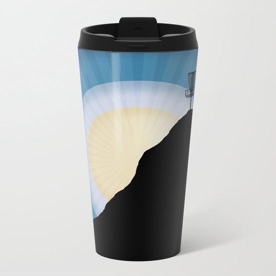 Basket On A Mountain Metal Travel Mug