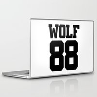 exo Laptop & iPad Skins featuring EXO WOLF 88 by Cathy Tan