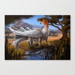 Bird Dragon Canvas Print