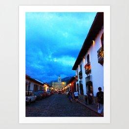 streets of Guatemala  Art Print