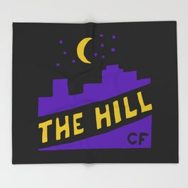 The Hill Throw Blanket