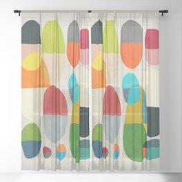 Jagged little pills Sheer Curtain