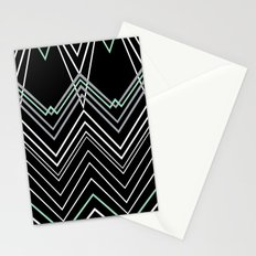 Mint Chevy on Black Stationery Cards