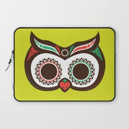 Day 0f the Dead Owl Laptop Sleeve