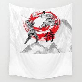 Samurai Warriors Wall Tapestry