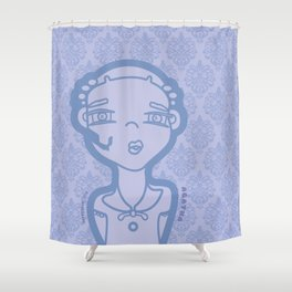 AGATHA (duvet) Shower Curtain