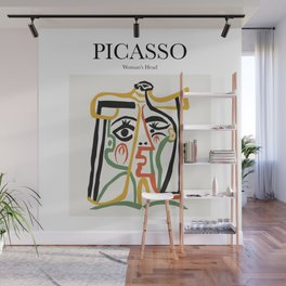 Picasso - Woman's Head Wall Mural