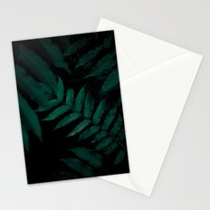 Dark Leaves II Stationery Cards