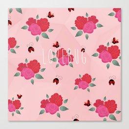 Lovebug Canvas Print