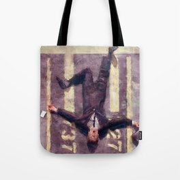 Lloyd Christmas Fell Off The Jetway Again - Dumb And Dumber Tote Bag