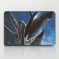 alien iPad Cases featuring Alien by Tom C Carlton