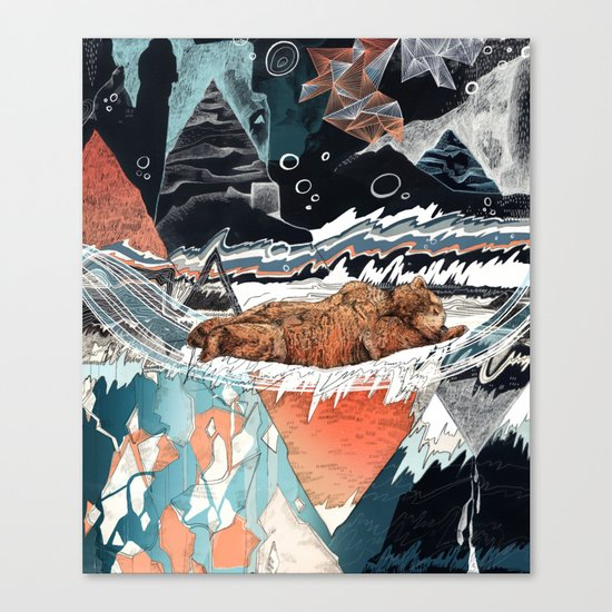 Seconds Behind Canvas Print