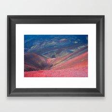 The Volcan Etna Framed Art Print