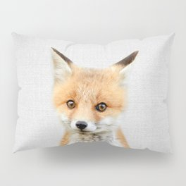 Baby Fox - Colorful Pillow Sham