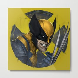 X-Men Fan Art Metal Print