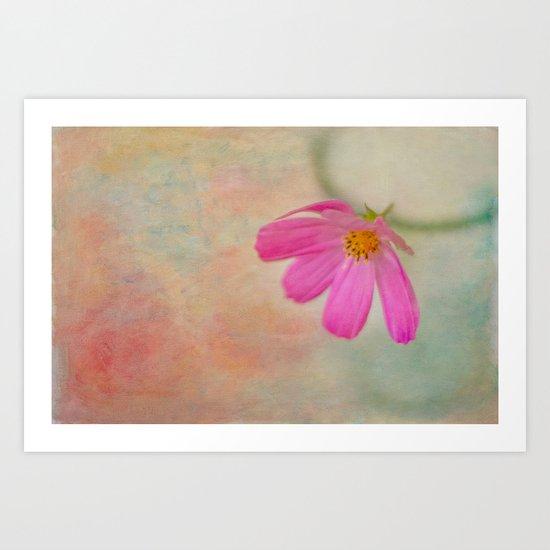 Paint Me in Vibrant Colors Art Print