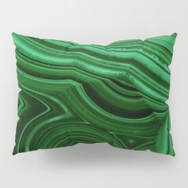 GREEN MALACHITE STONE PATTERN Pillow Sham