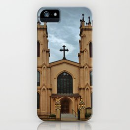 Cathedral At Night iPhone Case