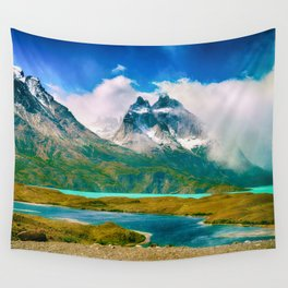 Earth, Water, Air Wall Tapestry