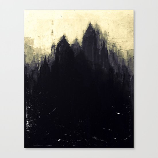 Edinburgh studies Canvas Print