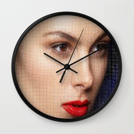 Wondering what the future holds Wall Clock