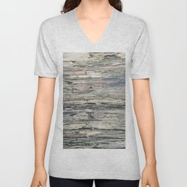 Old Rotten Wood Unisex V-Neck