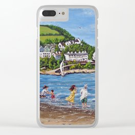 Newquay, Wales Clear iPhone Case