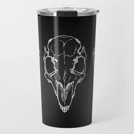 Raven, Rabbit, Wolf - Skulls Travel Mug