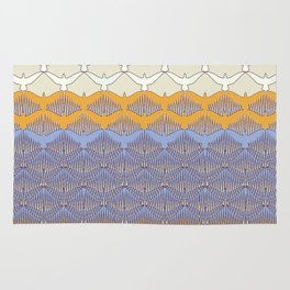 BIRDWAVE  yellow Rug