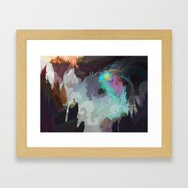 Water Demon Framed Art Print