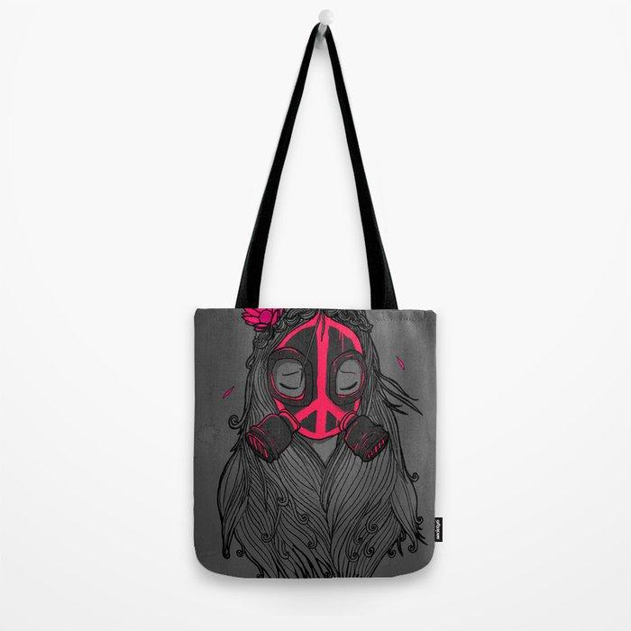 War and Peace (GREY) Tote Bag