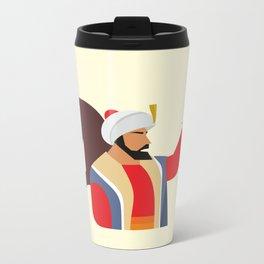 Minimal Ottoman Metal Travel Mug