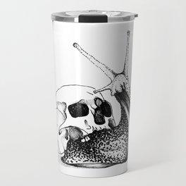 This Skull Is My Home (Snail & Skull) Travel Mug