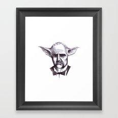 Yodafather Framed Art Print