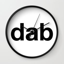dab Wall Clock