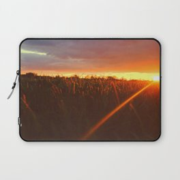 Sunset atop of the Hill Laptop Sleeve