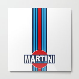 MARTINI RACING TEAM Metal Print
