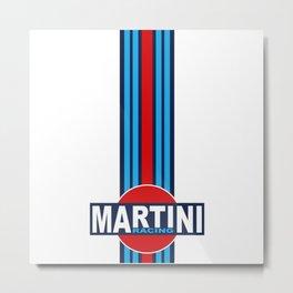 MARTINI RACING TEAM Metal Print