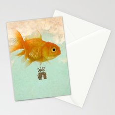 balloon fish 03 Stationery Cards