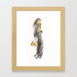 Style. Framed Art Print