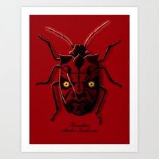 Uncommon Bug Art Print