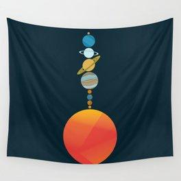 Solar System 2 Wall Tapestry