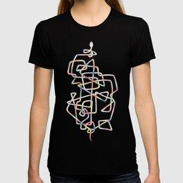 Rainbow Twisty Snake T-shirt