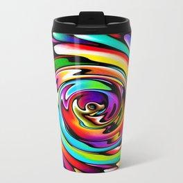 Rainbow Swirl Travel Mug