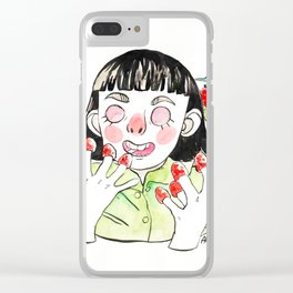 Amélie ama le piccole cose Clear iPhone Case