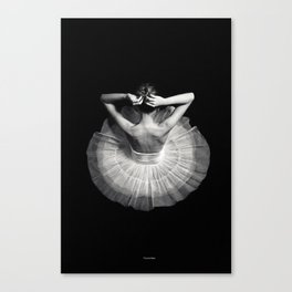 Ready to dance Canvas Print